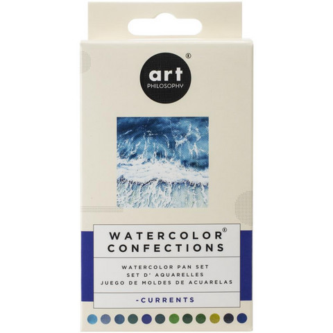 Prima Marketing - Watercolor Confections, Currents