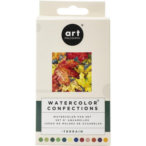 Prima Marketing - Watercolor Confections, Terrain