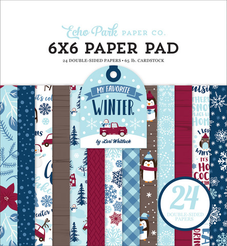 Echo Park - My Favorite Winter Double-Sided Paper Pad 6