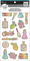 MAMBI - Happy Planner Enamel Stickers, Happy Hostess, Tarra-arkki