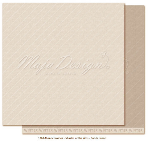 Maja Design - Monochromes - Shades of Alps - Sandalwood