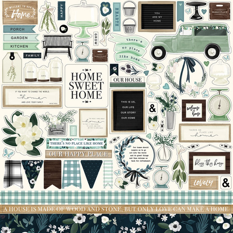 Carta Bella - Home Again Element Sticker 12