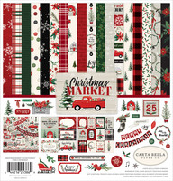Carta Bella - Christmas Market, Collection Kit 12