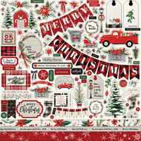 Carta Bella - Christmas Market Element Sticker 12