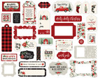 Carta Bella - Christmas Market Ephemera Frames And Tags, Leikekuvia, 33 kpl