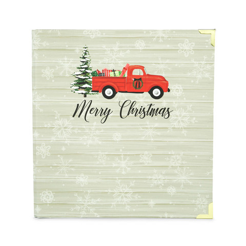 Carta Bella - Christmas Market, Album 6'X8', Christmas Truck