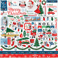 Carta Bella - Merry Christmas Element Sticker 12
