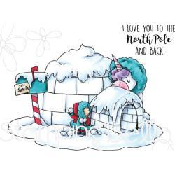 Stamping Bella - Rosie & Bernie In The North Pole, Leimasetti