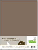 Lawn Fawn - Chocolate Bar Cardstock 8,5