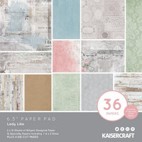 Kaisercraft - Lady Like, Paperikko, 6.5