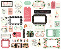 Echo Park - Salon Frames & Tags, Leikekuvia, 33 kpl