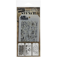 Tim Holtz - Mini Layered Stencil, Set #43