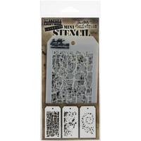 Tim Holtz - Mini Layered Stencil, Set #43
