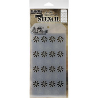 Tim Holtz - Layered Stencil, Shifter Peppermint