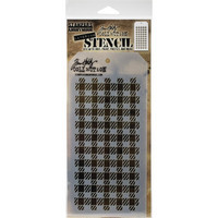 Tim Holtz - Layered Stencil, Gingham