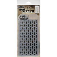 Tim Holtz - Layered Stencil, Diamond Dots