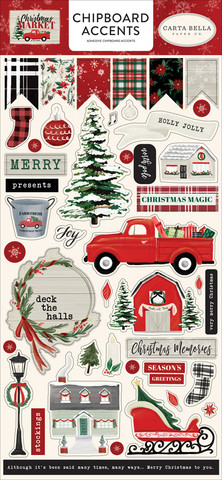 Carta Bella - Christmas Market, Chipboard 6