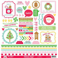 Doodlebug - Christmas Magic, This & That Cardstock Stickers, 12