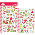 Doodlebug - Christmas Magic Icons, Mini Cardstock Stickers, 2 arkkia