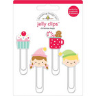Doodlebug - Christmas Magic, Jelly Clips, 4 kpl