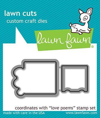 Lawn Fawn - Love Poems, Stanssisetti