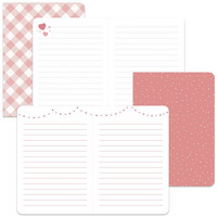Lawn Fawn - Perfectly Pink Mini Notebooks, Vihkosetti