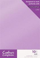 Crafter`s Companion - Glitterkartonki, Lilac, A4, 10 arkkia