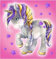 Collection D'Art - Little unicorn (K), Timanttimaalaus, 38x38cm