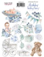 Fabrika Decoru - Tarra-arkki, Shabby Baby Boy redesign