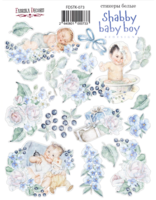 Fabrika Decoru - Tarra-arkki, Shabby Baby Boy redesign 1