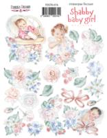 Fabrika Decoru - Tarra-arkki, Shabby Baby Girl redesign