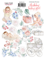 Fabrika Decoru - Tarra-arkki, Shabby Baby Girl redesign 1
