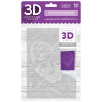 Gemini - 3D Embossing Folder, Kohokuviointitasku, Love Blossoms