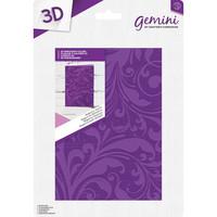 Gemini - 3D Embossing Folder, Kohokuviointitasku, Regency Swirls
