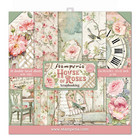 Stamperia - House of Roses, Paper Pack 12