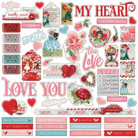 Simple Stories - My Valentine Combo Sticker 12