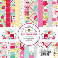 Doodlebug - Love Notes, Double-Sided Paper Pad 6