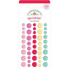 Doodlebug - Love Notes, Sprinkles Adhesive Enamel Dots, 45 osaa