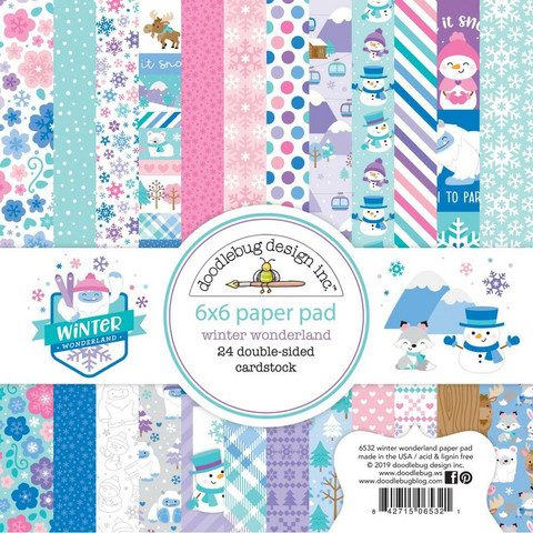 Doodlebug - Winter Wonderland, Double-Sided Paper Pad 6