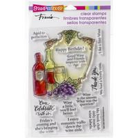 Stampendous - Wine Frame, Leimasetti