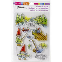 Stampendous - Gnome Fishing, Leimasetti