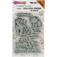 Stampendous - Kitten Hugs, Leimasetti