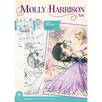Molly Harrison - Photopolymer Stamp, Lily of Love, Leimasetti