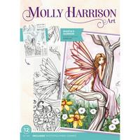 Molly Harrison - Photopolymer Stamp, Marta's Garden, Leimasetti