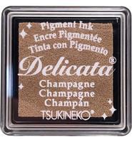 Tsukineko - Delicata Pigment Ink, Champagne, Leimasinmuste