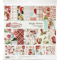 Simple Stories - Simple Vintage My Valentine Collection Kit 12