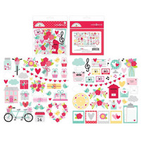 Doodlebug - Love Notes, Odds & Ends Die-Cuts, 77 osaa