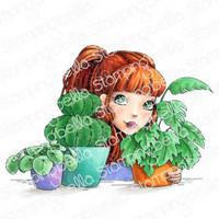 Stamping Bella - Mochi Plant Girl, Leima