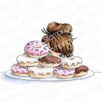 Stamping Bella - Mochi Donut Girl, Leima