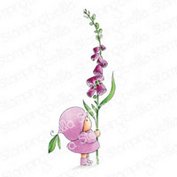 Stamping Bella - Bundle Girl With A Foxglove, Leima